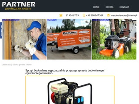 Partner.gniezno.pl - sprzęt budowlany