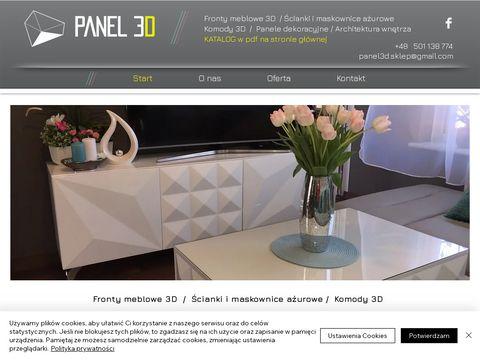 Panel3dmdf.pl panele dekoracyjne 3D MDF