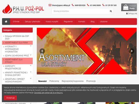 Ppoz.sklep.pl - sprzęt pożarniczy