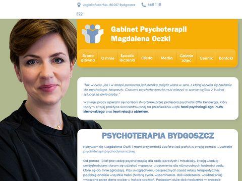 Psychoterapia-bydgoszcz.eu Magdalena Oczki