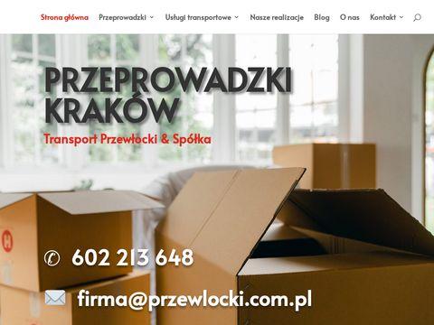 Przewłocki & Spółka - przeprowadzki Kraków