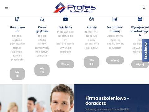 Profes.edu.pl - szkolenia Śląsk