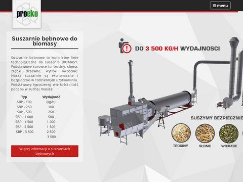 Proeko suszarnie do biomasy