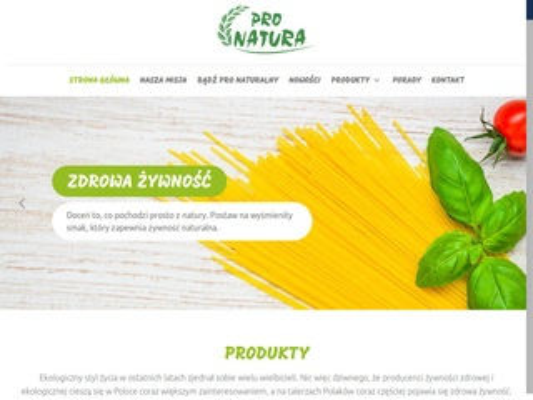 Pronatura.com.pl producent zdrowej żywności