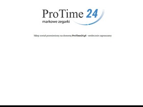 ProTime.pl - markowe zegarki