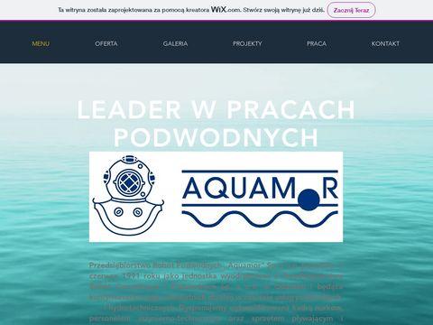 Aquamor usługi podwodne Trójmiasto