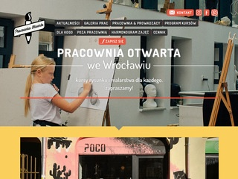 Pracowniaotwarta.com kurs rysunku