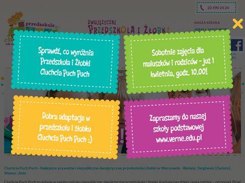 Puchpuch.pl przedszkole Ciuchcia