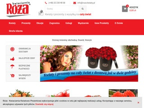 Róża kwiaciarnia internetowa