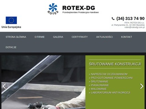 Rotex-DG - malowanie przemysłowe