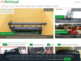 Rolnicy.pl rolnictwo