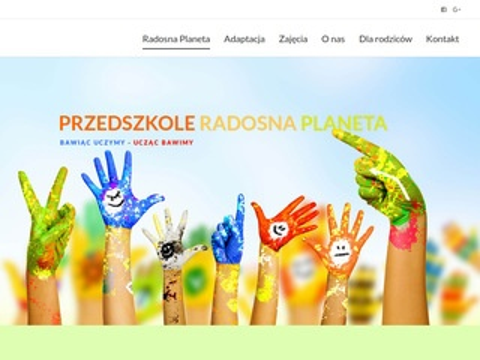 RadosnaPlaneta.com - przedszkole Bemowo