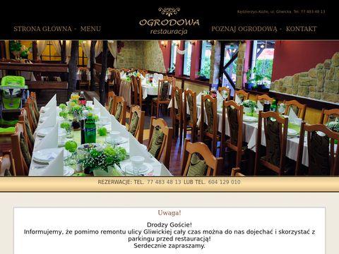 Restauracjaogrodowa.pl kuchnia polska