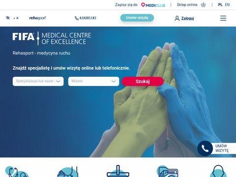 Rehasport klinika Poznań