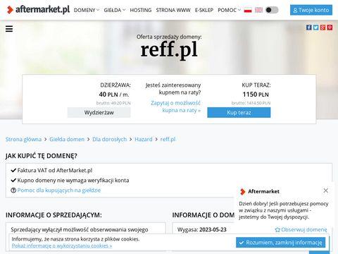 Reff.pl - sprzęt fitness