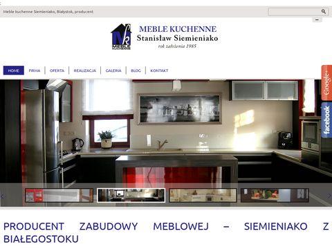 Siemieniako Stanisław kuchnie na zamówienie