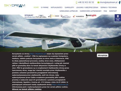 Skydream.pl nowe samoloty