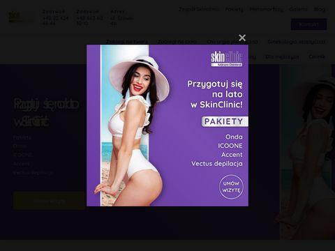 SkinClinic - usuwanie blizn