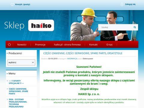 Haiko Sp. z o.o. AssaAbloy, Hafa, Crawford, Faltec