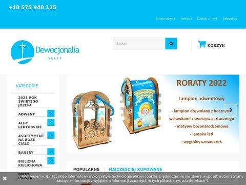 Sklepdewocjonalia.com.pl artykuły liturgiczne