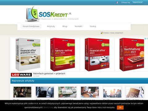 SOSKredyt.pl - forum kredytowe