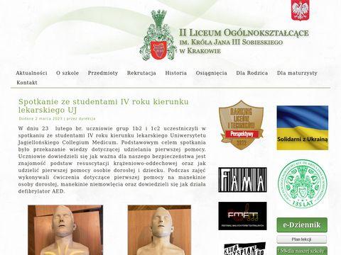 Sobieski.krakow.pl Liceum ogólnokształcące