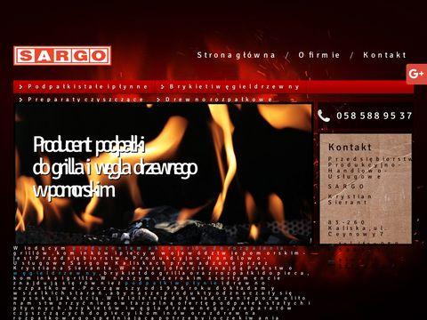 Sargo.pl podpałka do pieca