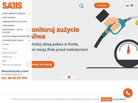 Satisgps.com lokalizator pojazdu