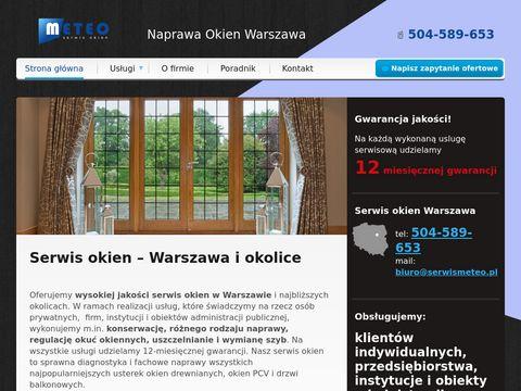Serwismeteo.pl wymiana szyb i uszczelek