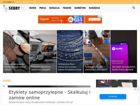 Sebby.pl szkolenia sprzedażowe, konsulting