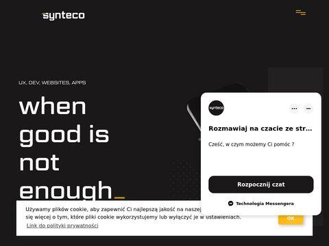 Synteco.pl tworzenie stron www