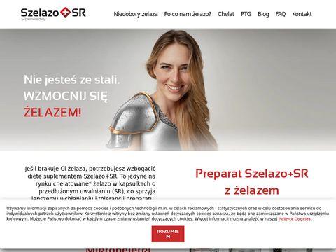 Szelazo.pl - preparaty z żelazem