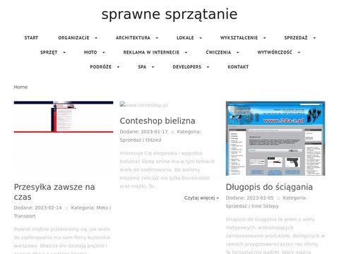 Sprawnesprzatanie.pl sprząta biura w Warszawie