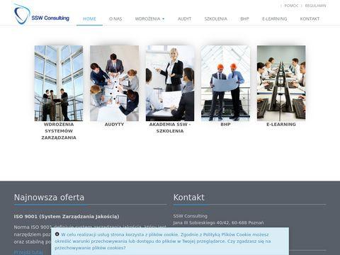 SSW Consulting zarządzanie jakością