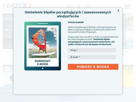 Surfski.pl nauka kitesurfingu