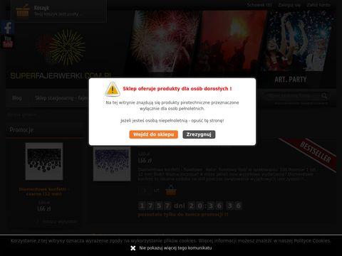 Superfajerwerki.com.pl sklep