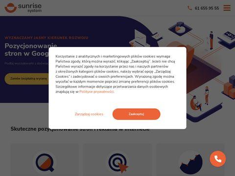 Sunrisesystem.pl pozycjonowanie stron