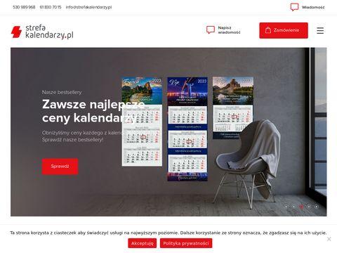 Strefakalendarzy.com.pl kalendarze książkowe