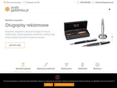 Strefagadzetow.pl gadżety z logo