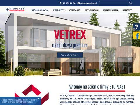 Stoplast.eu drzwi Porta, okna PCV Łódź