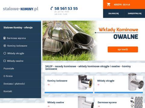 Stalowe-kominy.pl nasady kominowe
