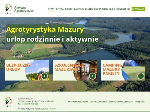Starejablonki.pl - Mazury urlop