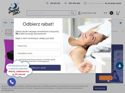 Sweetsen.pl jak wybrać materac