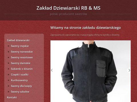 Swetry.biz polski producent swetrów