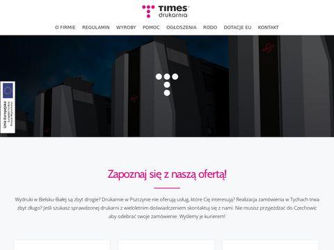 Times.com.pl druk katalogów