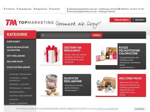Topgadzety.com.pl reklamowe z nadrukiem