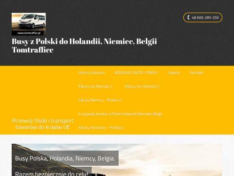 Tomtrafficc.pl busy z Olsztyna do Niemiec