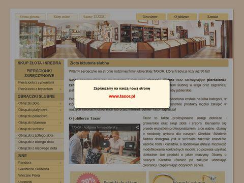 taxor.com.pl obrączki