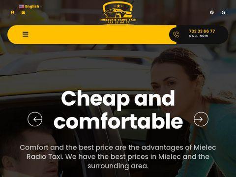 Taxi-mielec.com.pl - usługi taksówkarskie