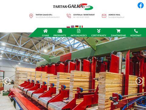 Tartakgalka.pl palety drewniane